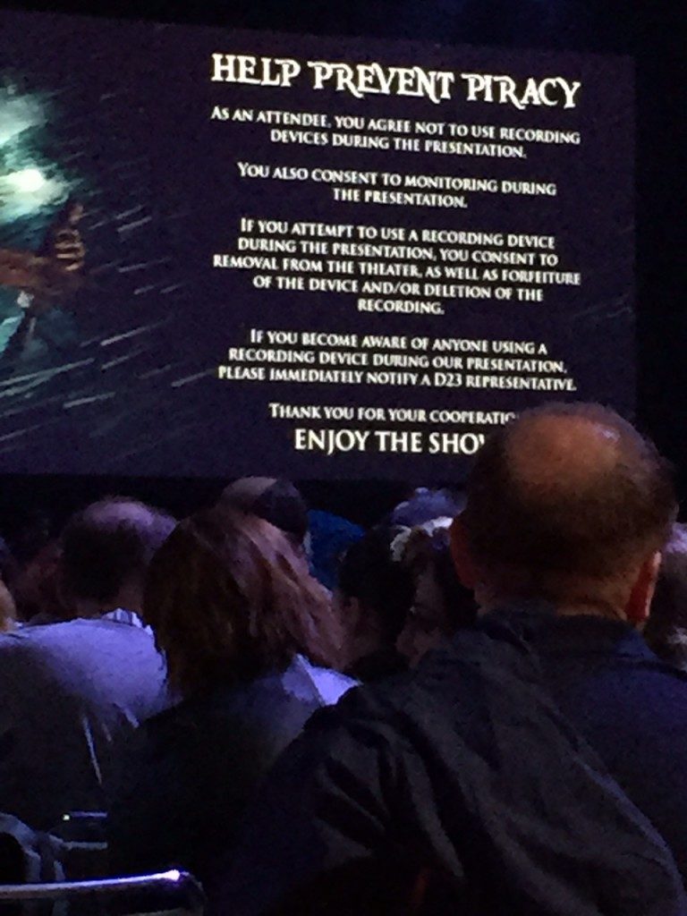 D23 piracy slide