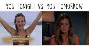 Bachelor you tonight vs you tomorrow